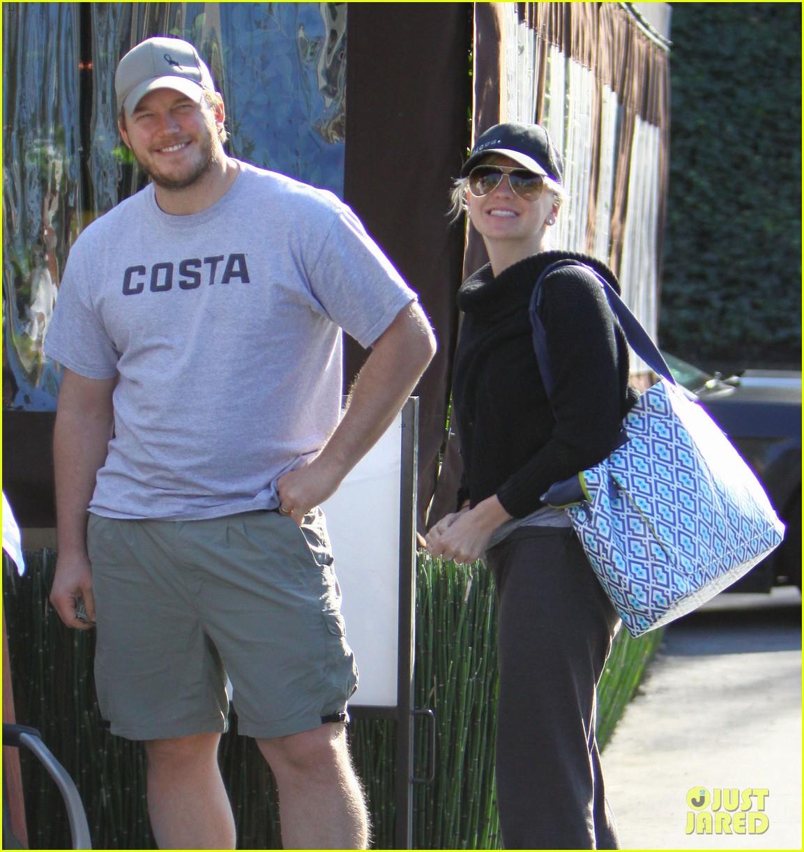 Anna Faris & Chris Pratt: Grey Goose Pre-Oscars Party 2013