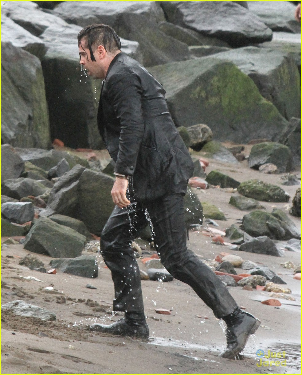 colin farrell winters tale water scenes filming 17