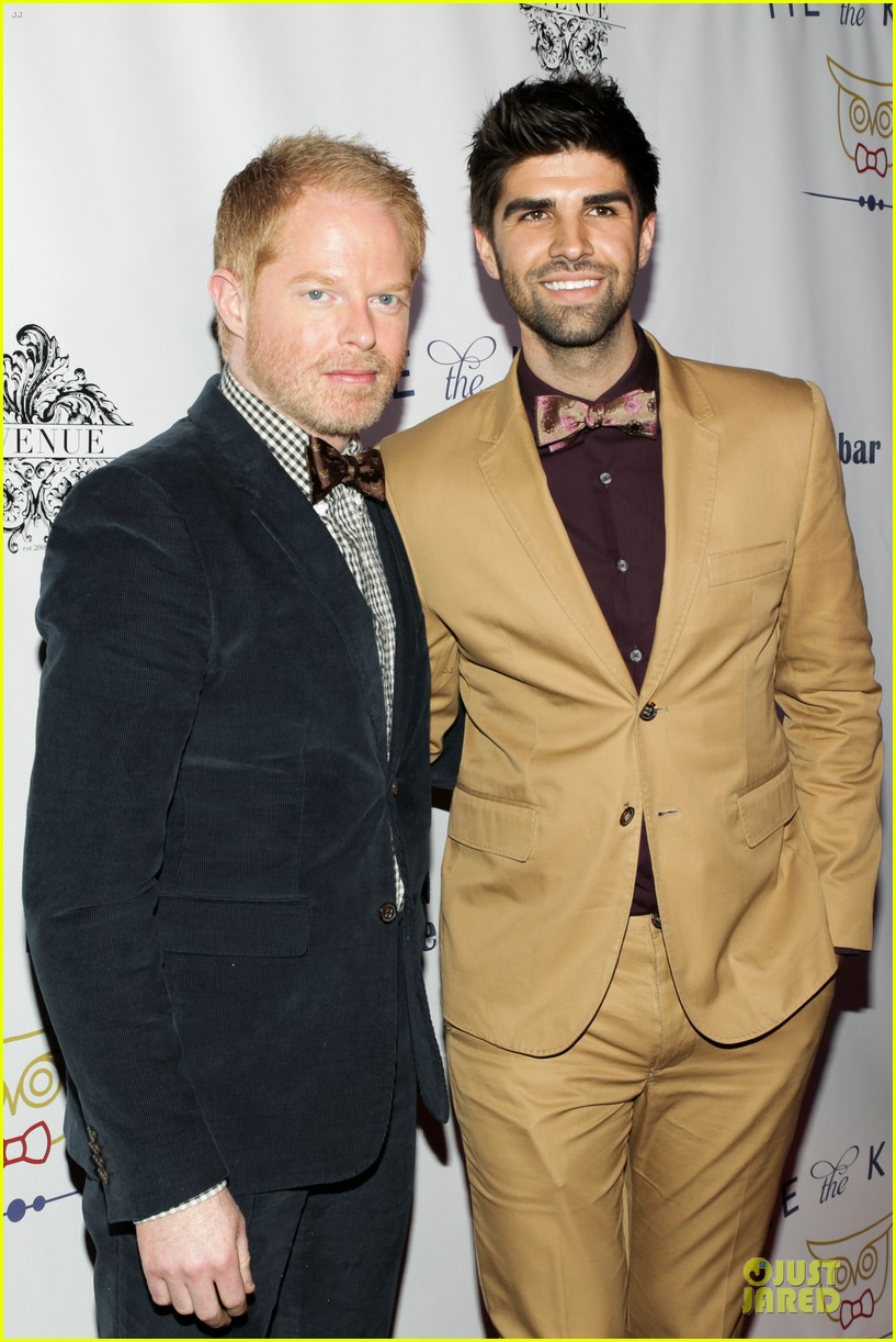 jesse tyler ferguson justin mikita tie the knot spring collection launch 06