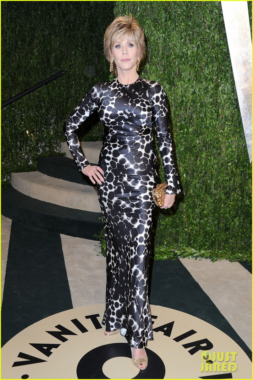 jane fonda vanity fair oscars party 2013 04