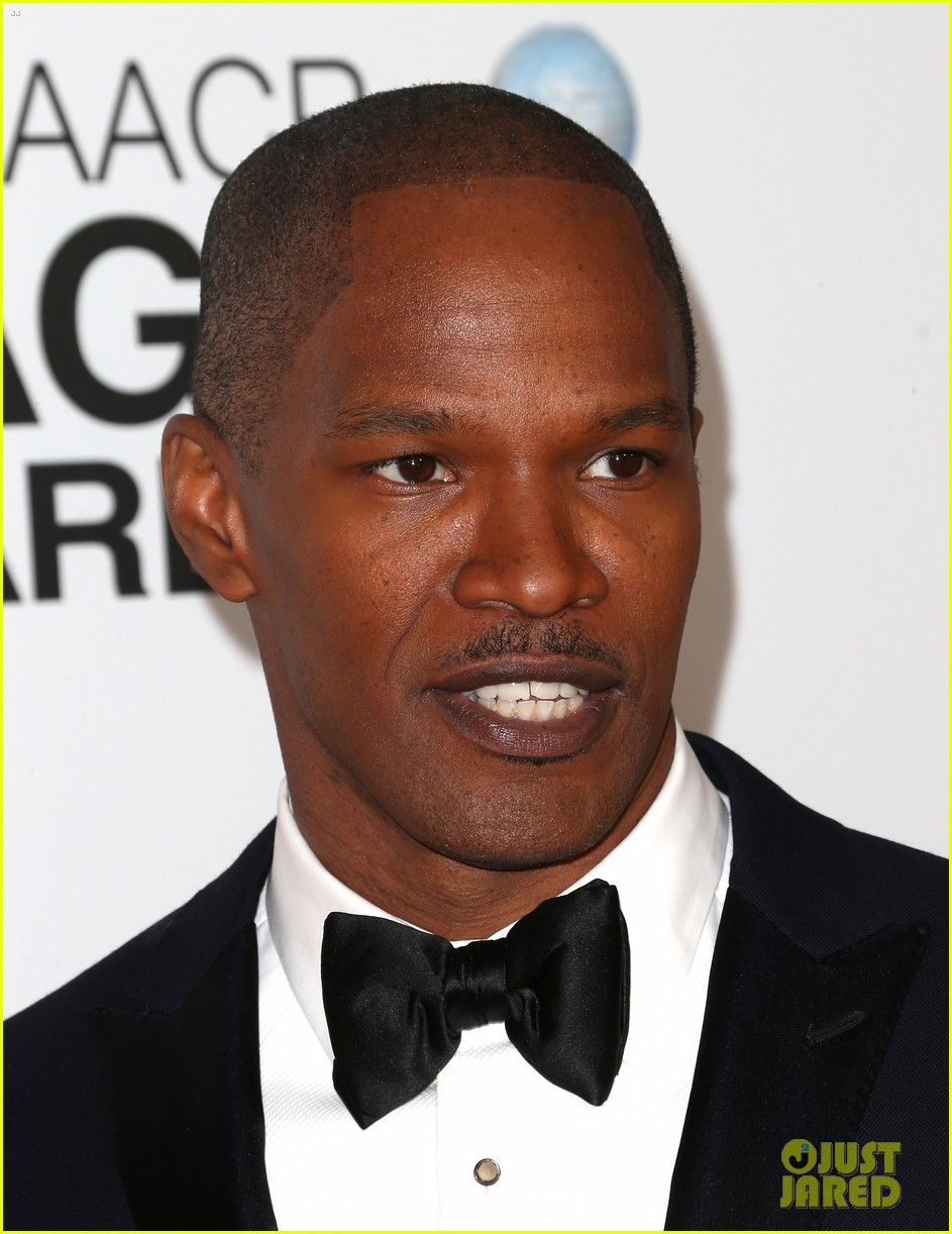 jamie foxx don cheadle naacp image awards 2013 08
