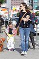 jennifer garner karate drop off with seraphina dolls 03