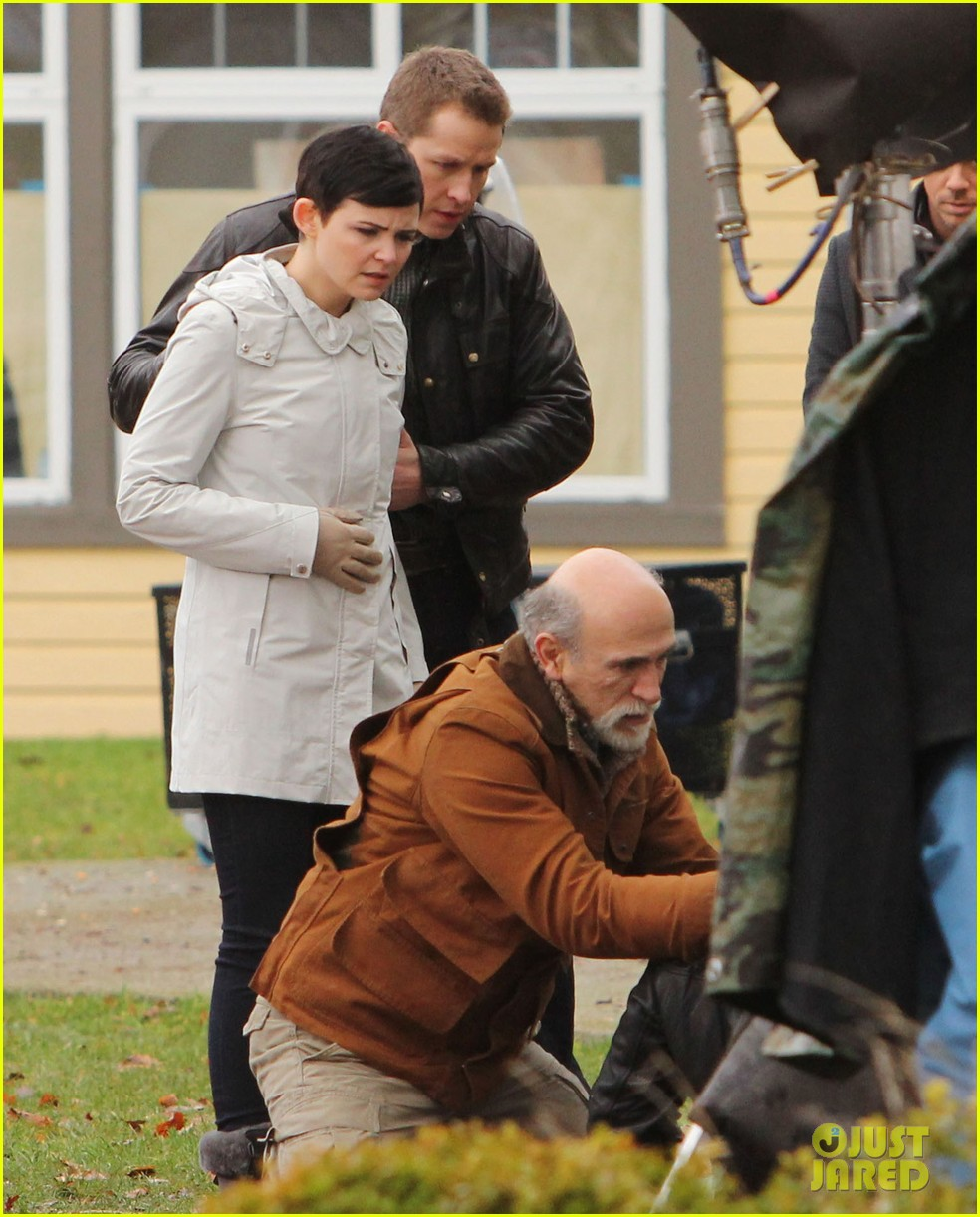 ginnifer goodwin jennifer morrison once upon a time filming 15