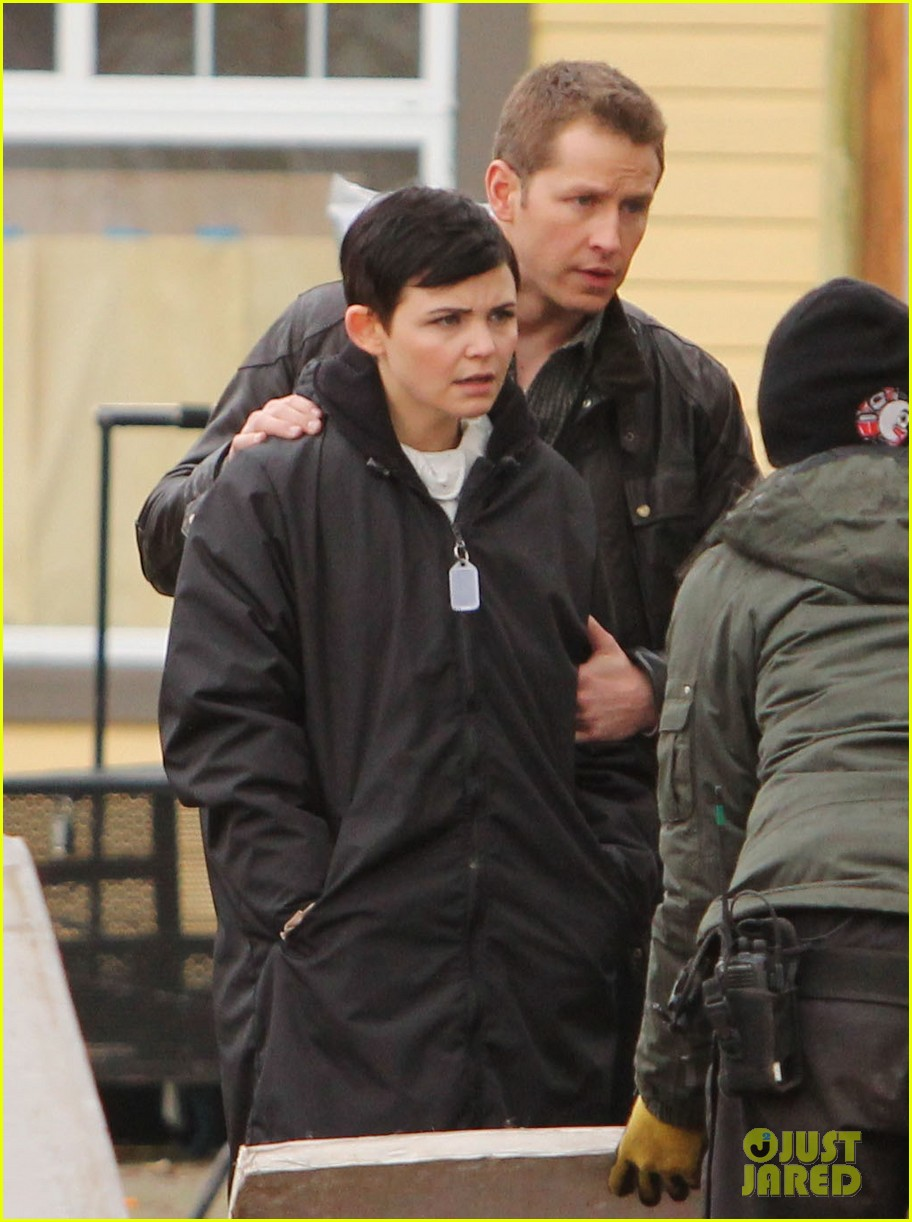 ginnifer goodwin jennifer morrison once upon a time filming 19
