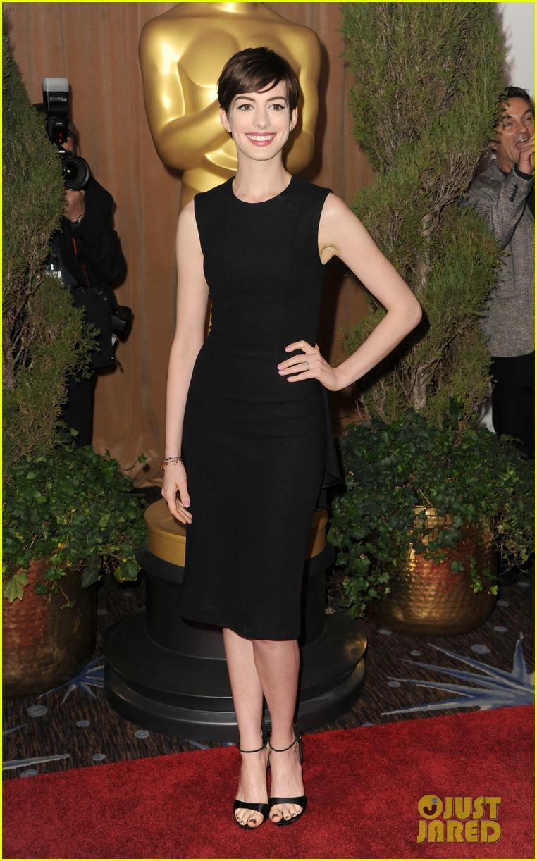 anne hathaway oscar nominees luncheon 2013 04