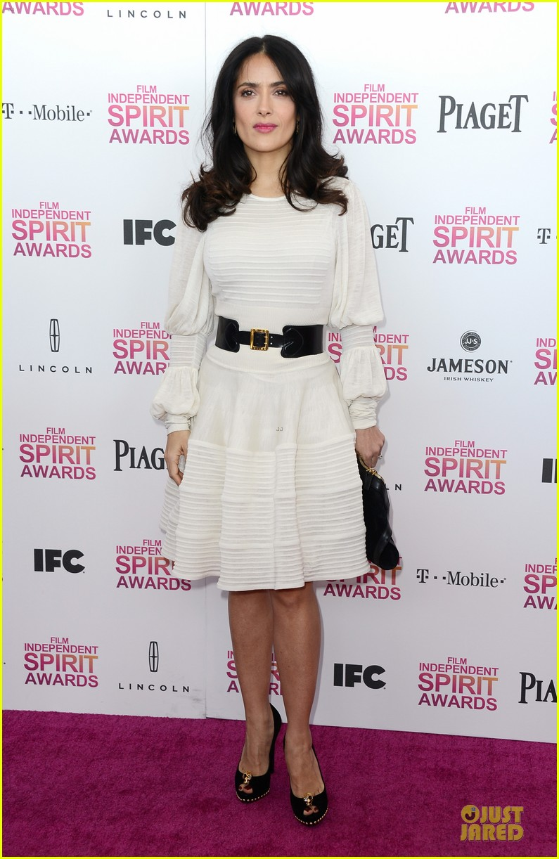 salma hayek francois henri pinault independent spirit awards 2013 142817880