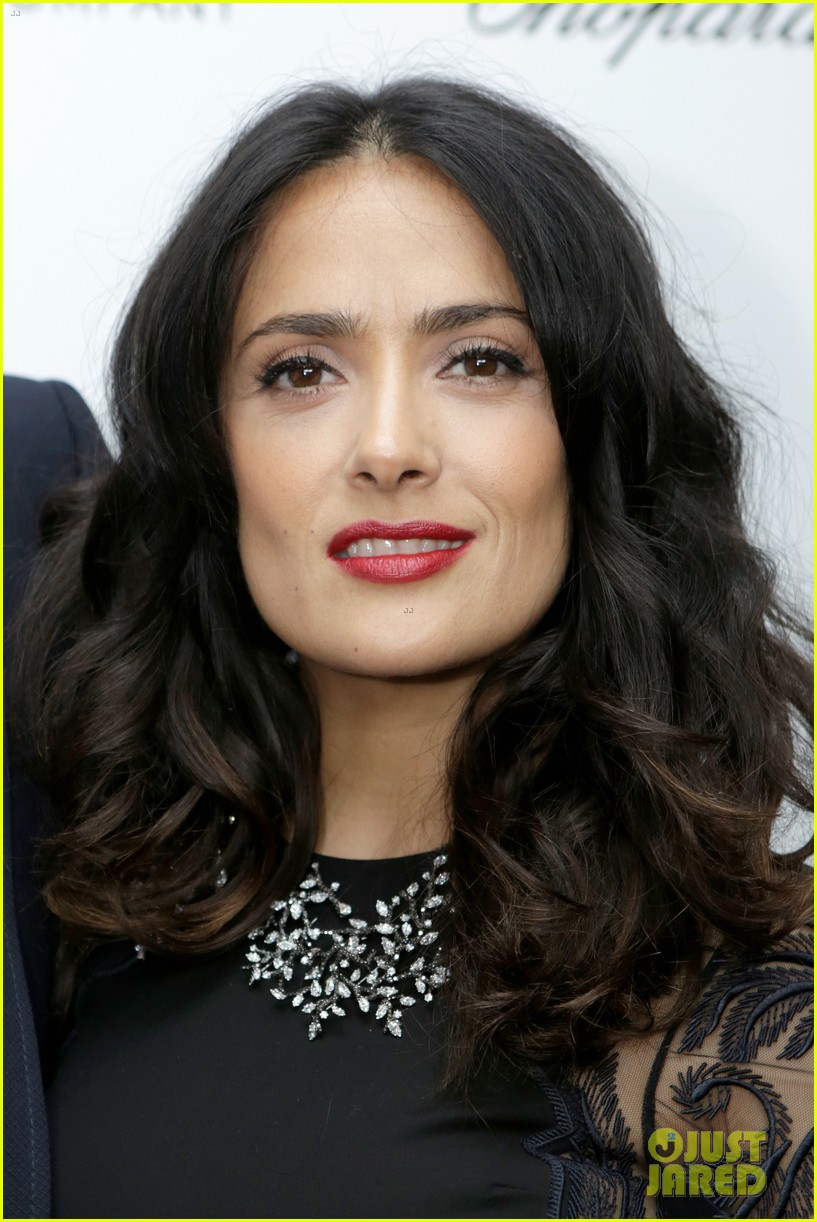 salma hayek weinstein pre oscars party 2013 08