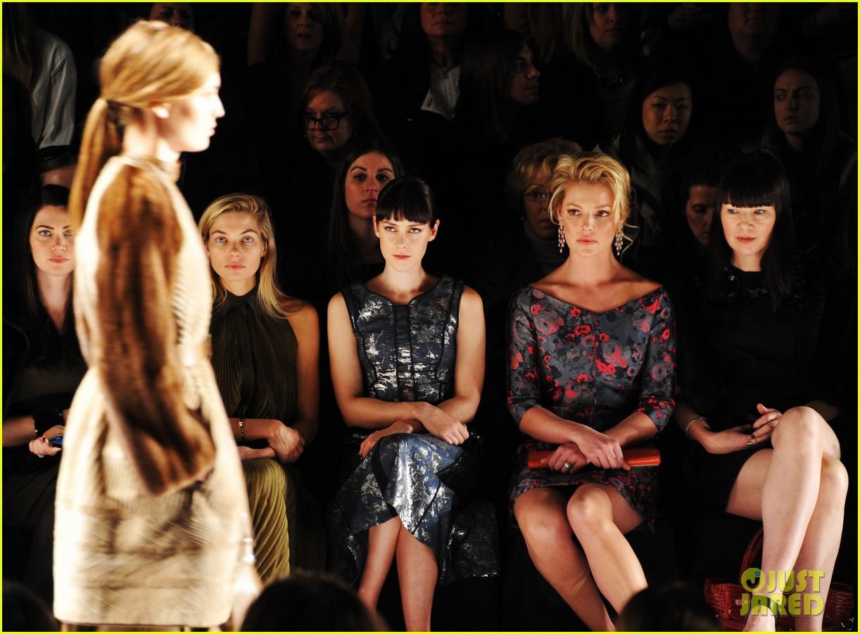 katherine heigl jena malone j mendel fashion show 07