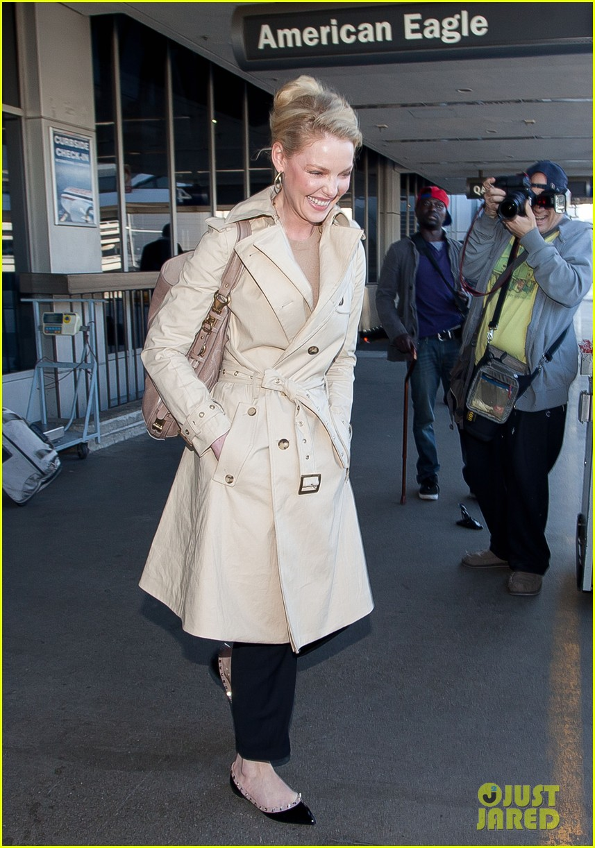 Katherine Heigl Great Time At New York Fashion Week
