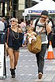 chris hemsworth elsa pataky sydney stroll with india 12