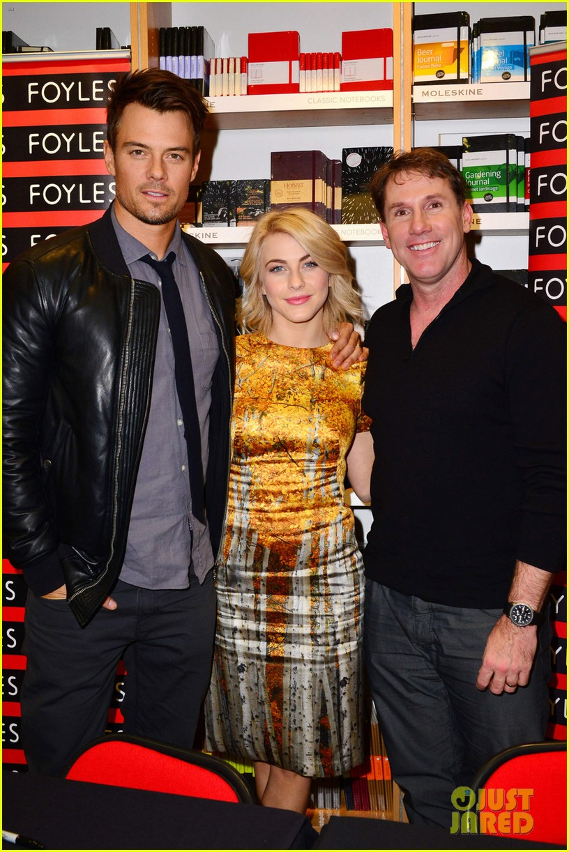 julianne hough josh duhamel safe haven book signing 03