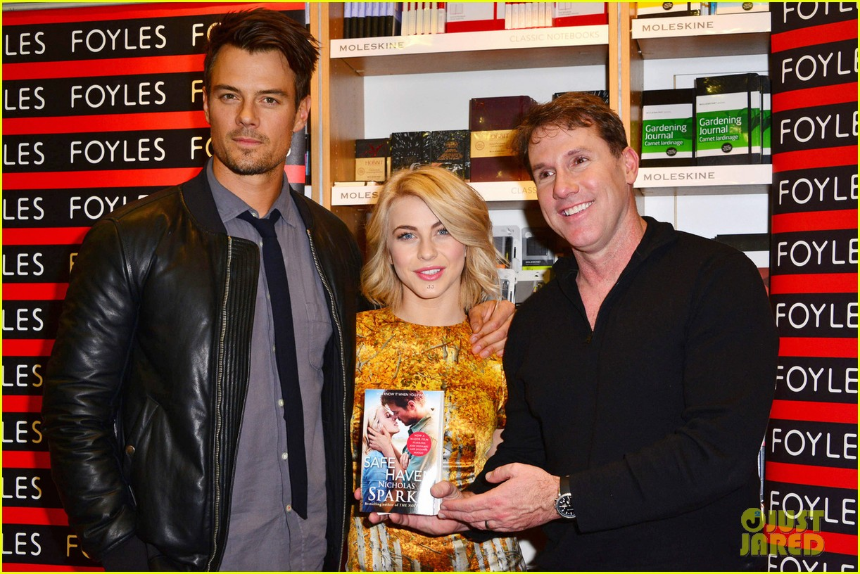 julianne hough josh duhamel safe haven book signing 052816566
