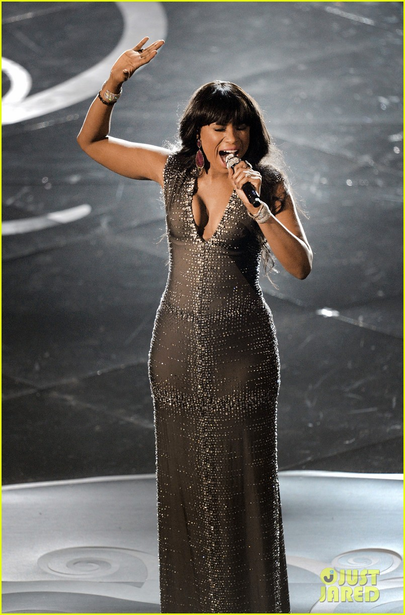 jennifer hudson and i am telling you at oscars 2013 video 01