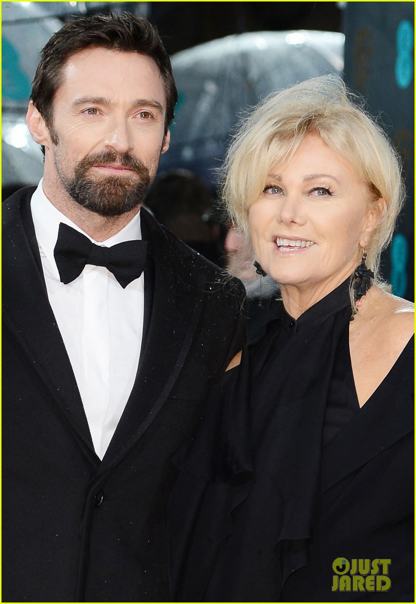 hugh jackman baftas 2013 red carpet 03