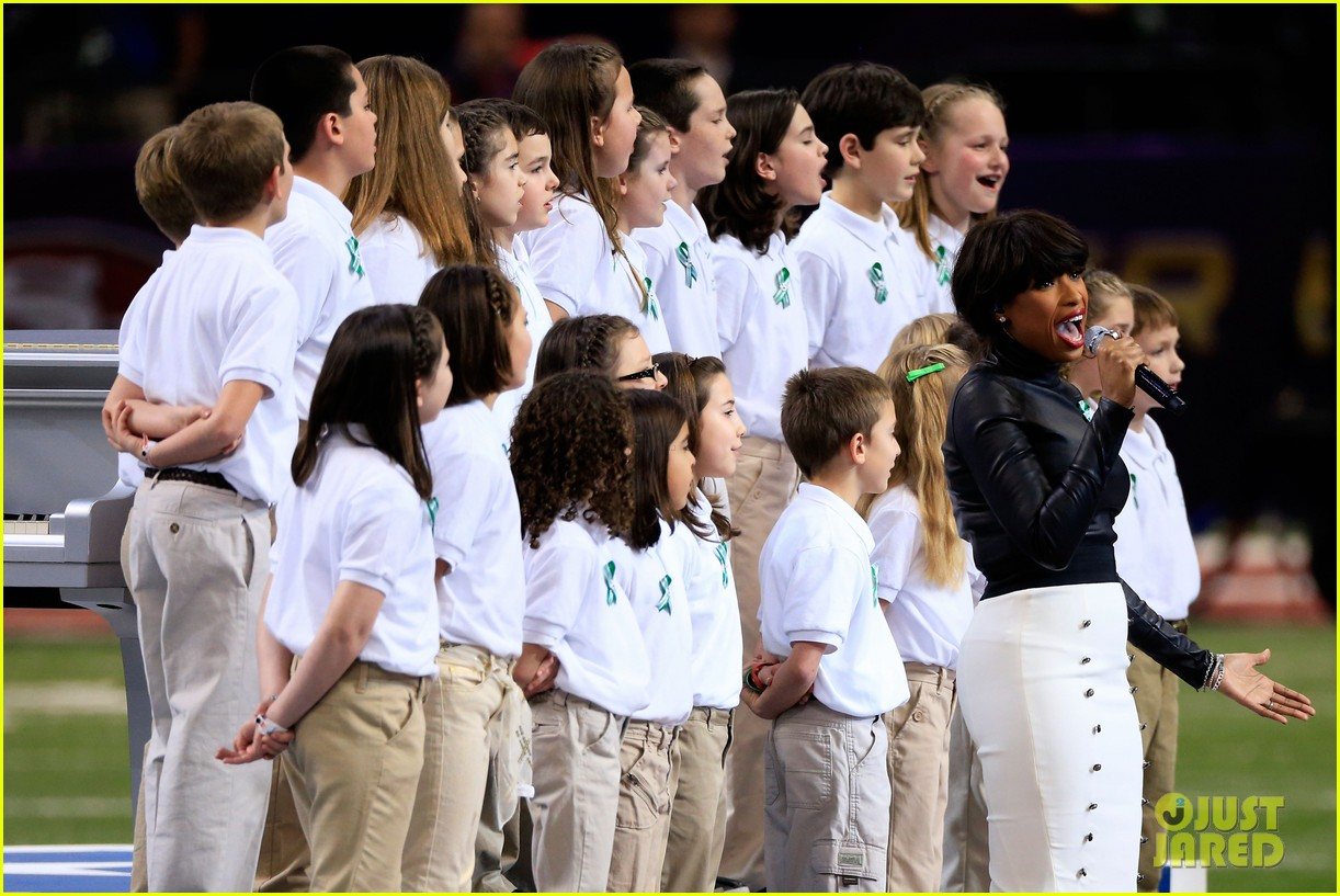 jennifer hudson america the beautiful super bowl 2013 02