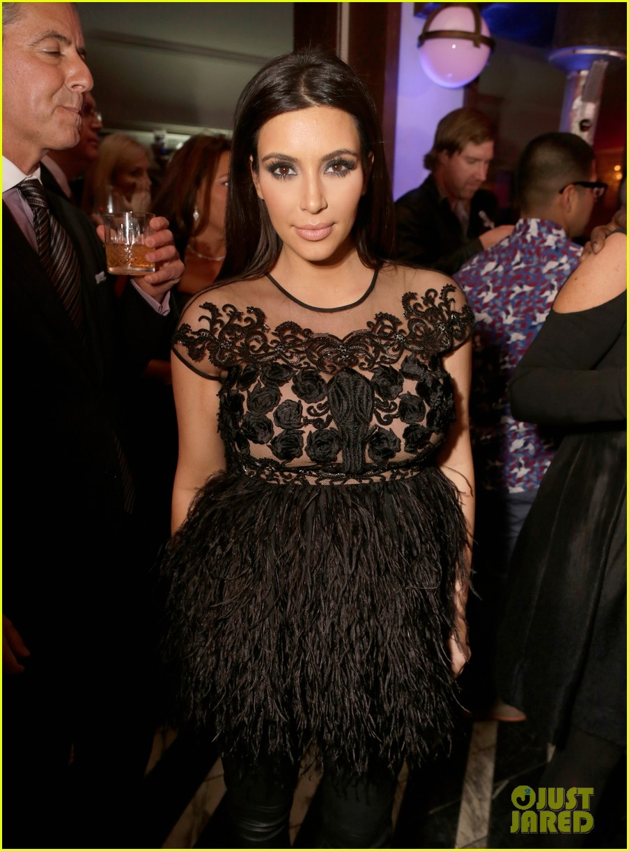 kim kardashian topshop topman opening party 12