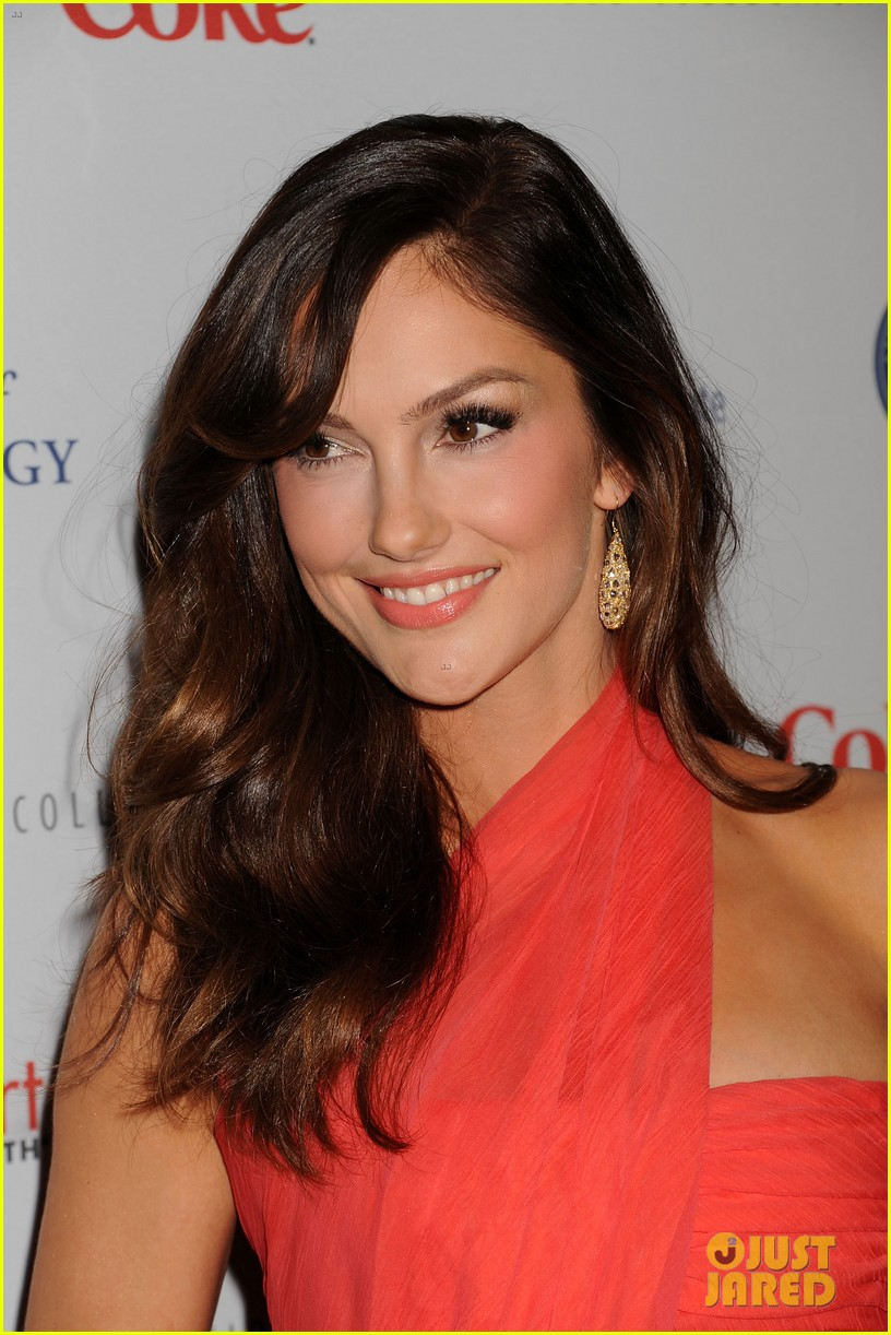 minka kelly heart truth red dress fashion show 2013 02