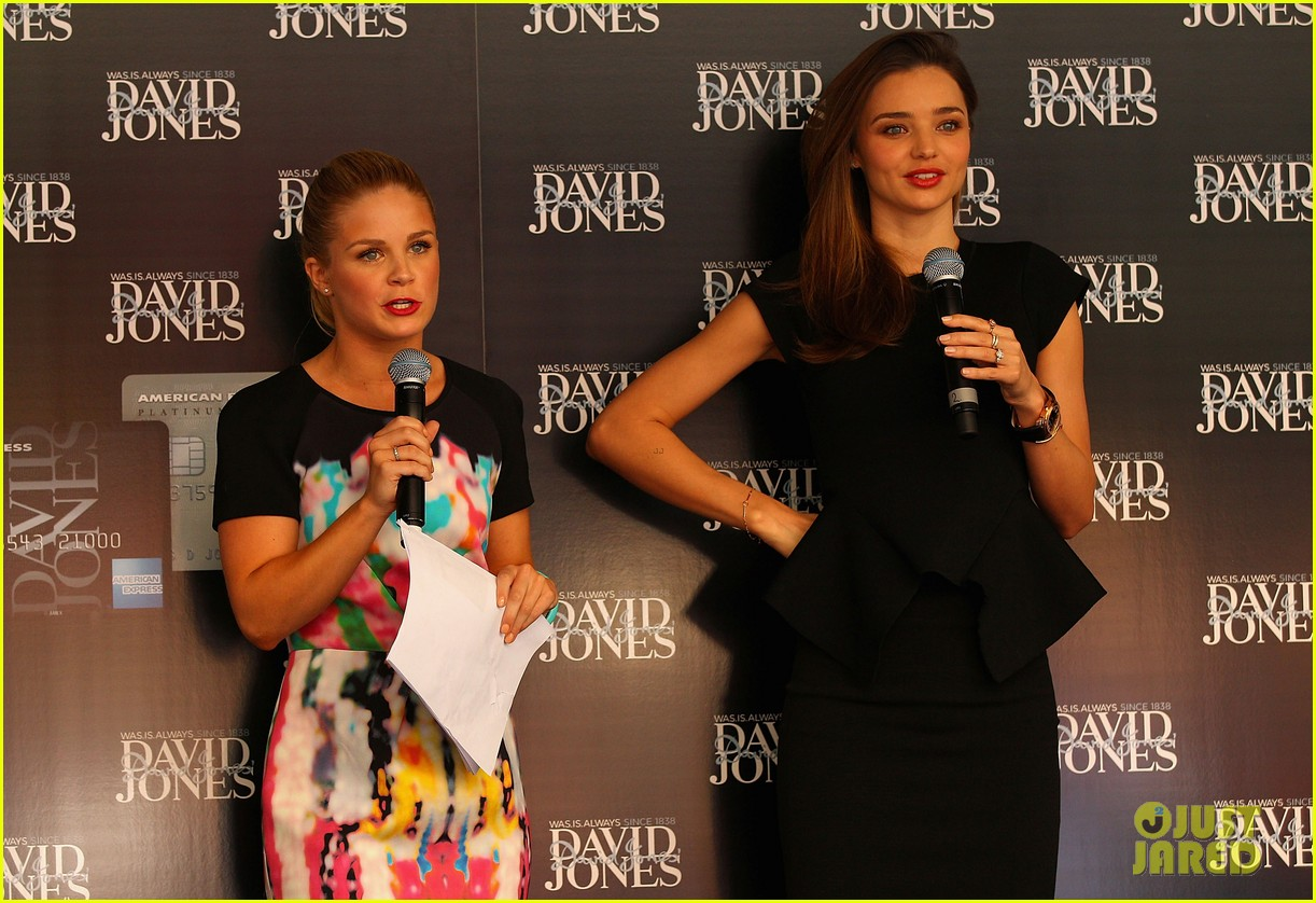 miranda kerr earcuff at david jones fashion workshop 05