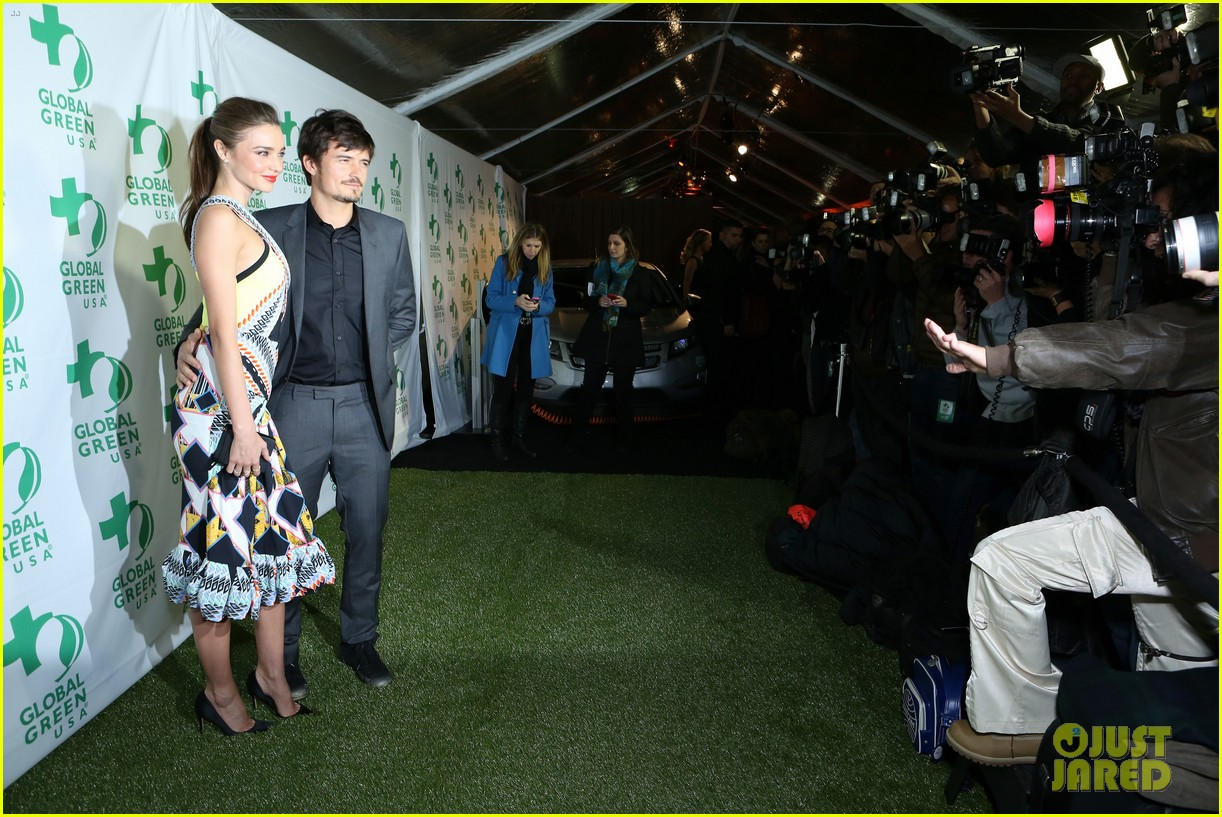 miranda kerr orlando bloom global green pre oscars party 03