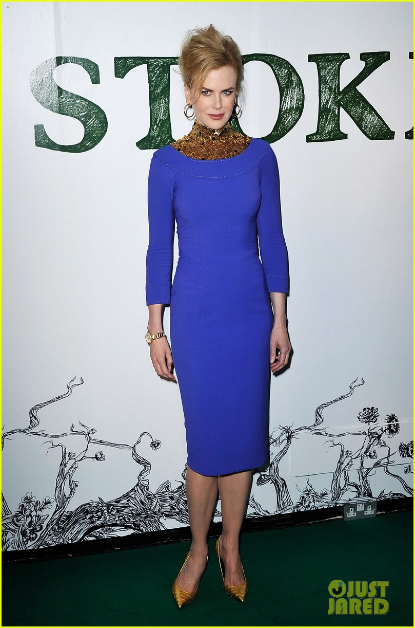nicole kidman mia wasikowska stoker london screening 01