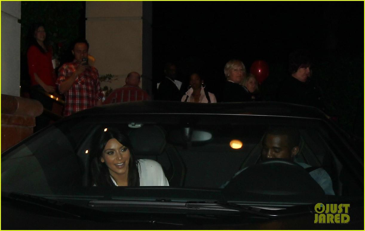 kim kardashian kanye west valentines dinner date 032812915