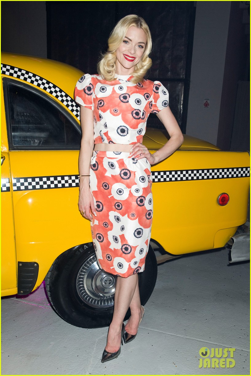 jaime king taxi cab cutie at kate spade celebration 16