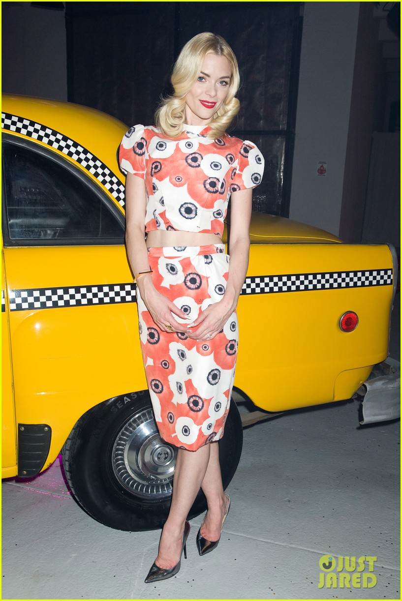jaime king taxi cab cutie at kate spade celebration 192807864