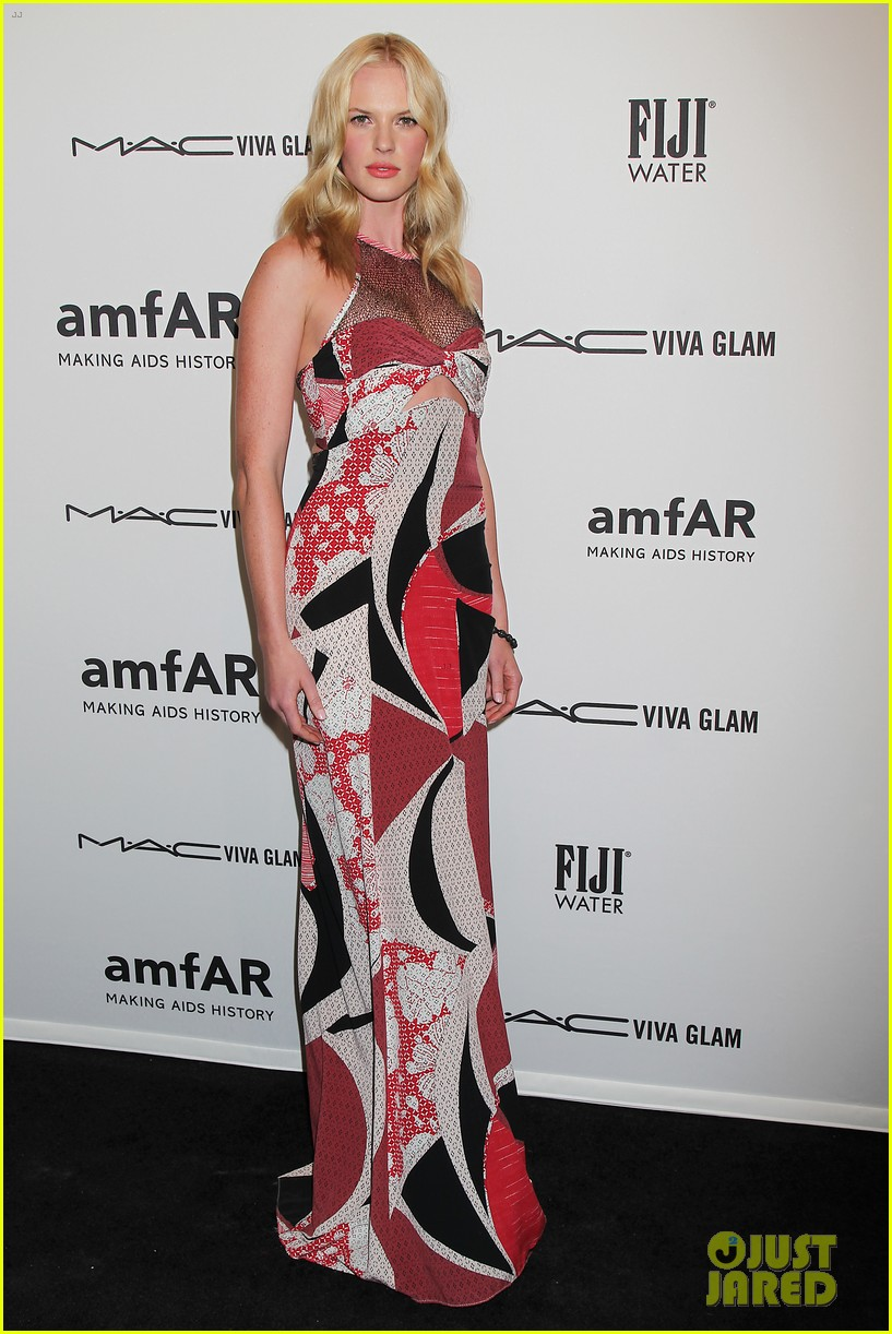 heidi klum anne v amfar new york gala 2013 04