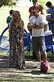 heidi klum martin kirsten beach day with the kids 47