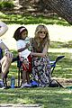 heidi klum martin kirsten beach day with the kids 51