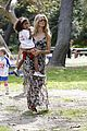 heidi klum martin kirsten beach day with the kids 56