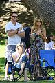 heidi klum martin kirsten beach day with the kids 58
