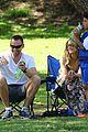heidi klum martin kirsten beach day with the kids 60