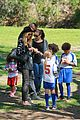 heidi klum martin kirsten pre oscars soccer practice 21