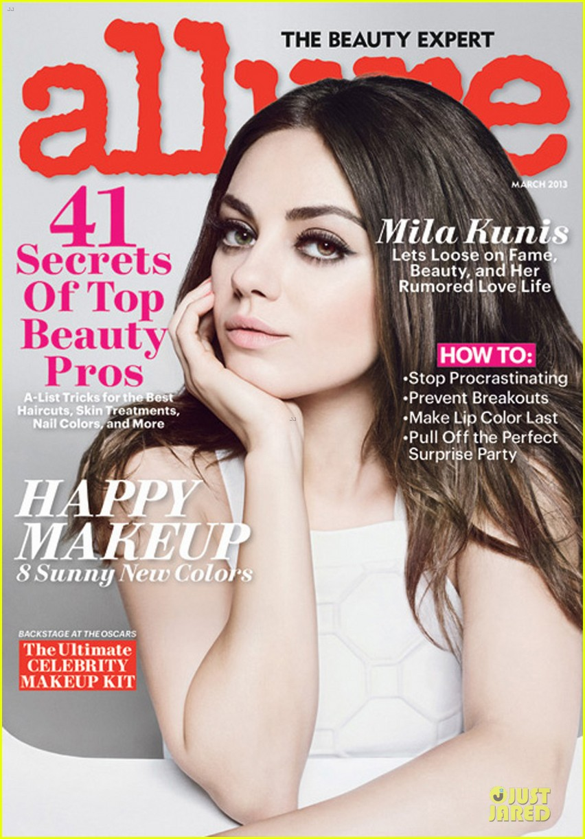 mila kunis covers allure magazine march 2013 032810247