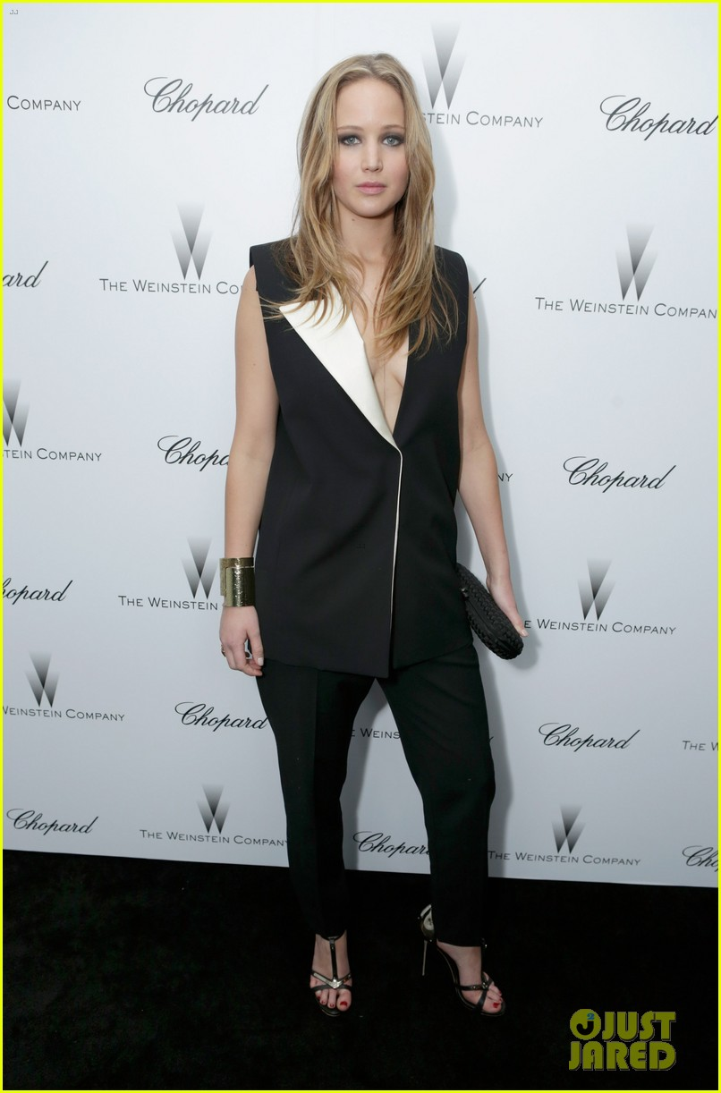 jennifer lawrence weinstein company pre oscars party 2013 01