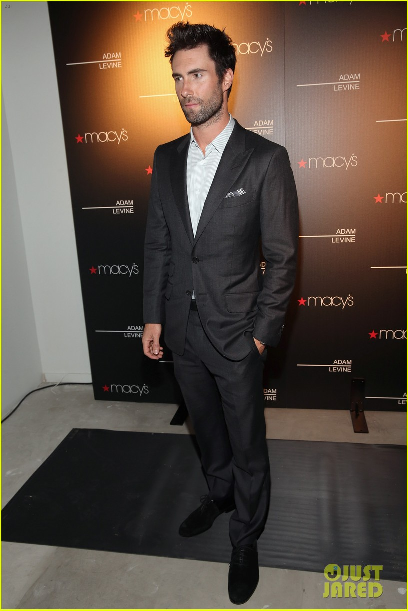 adam levine fragrance launch event 012806081