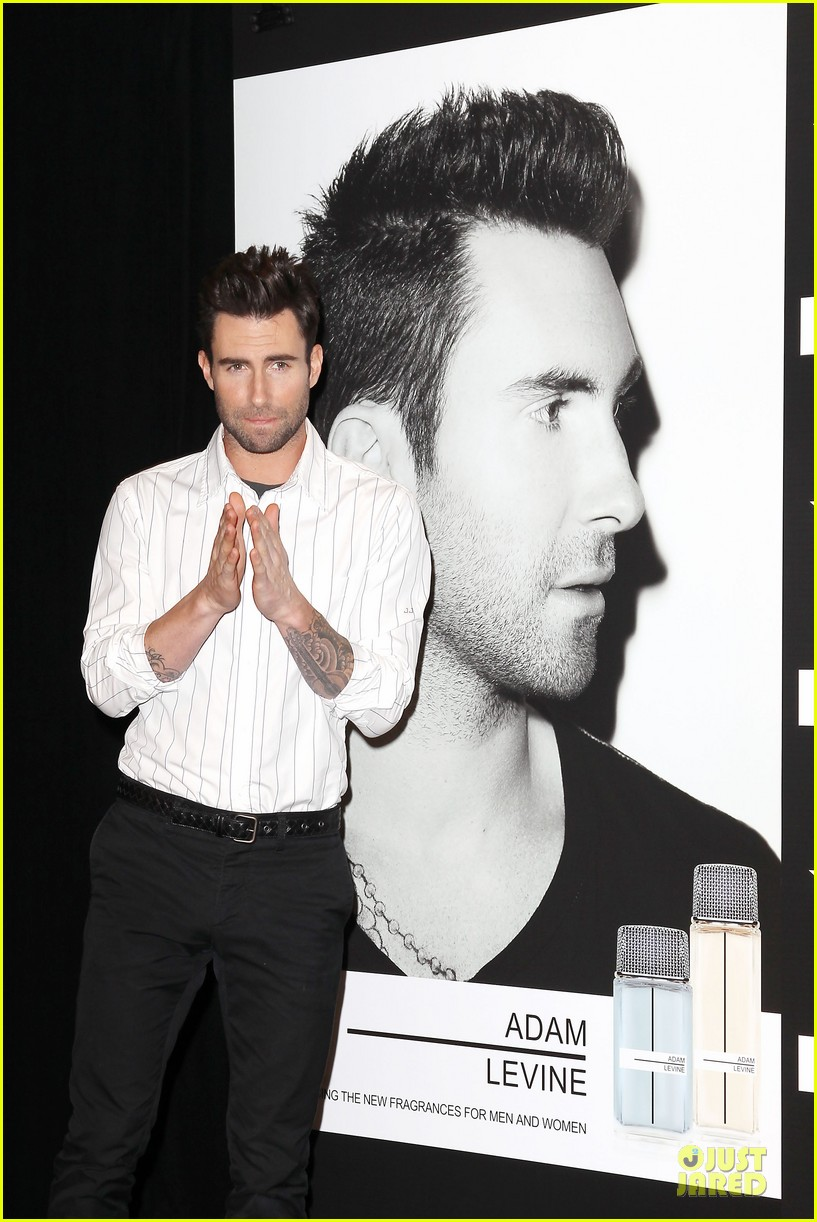 adam levine fragrance launch in new york city 02