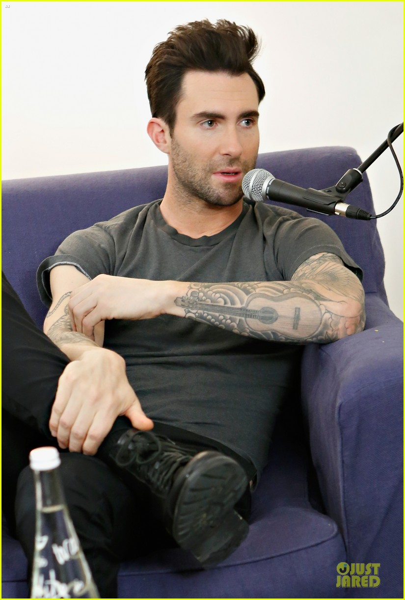 adam levine fragrance launch in new york city 132813211