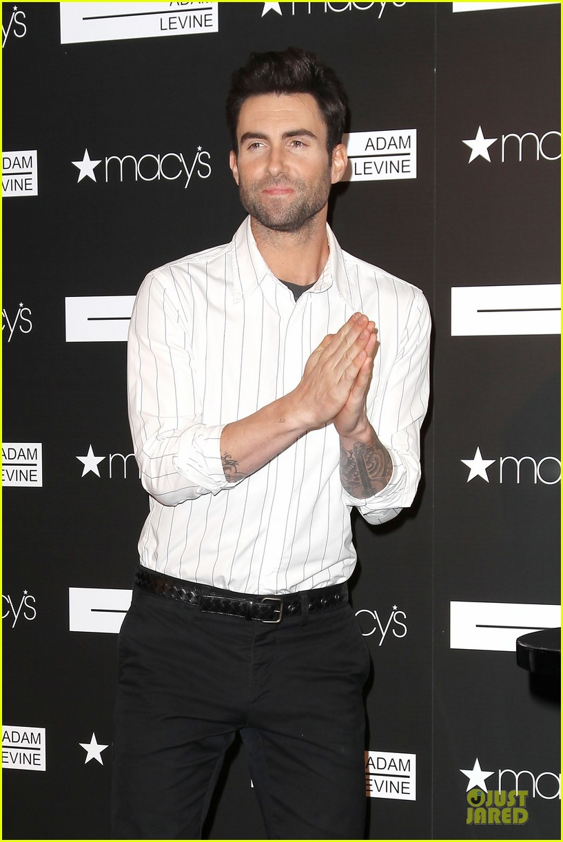 adam levine fragrance launch in new york city 22