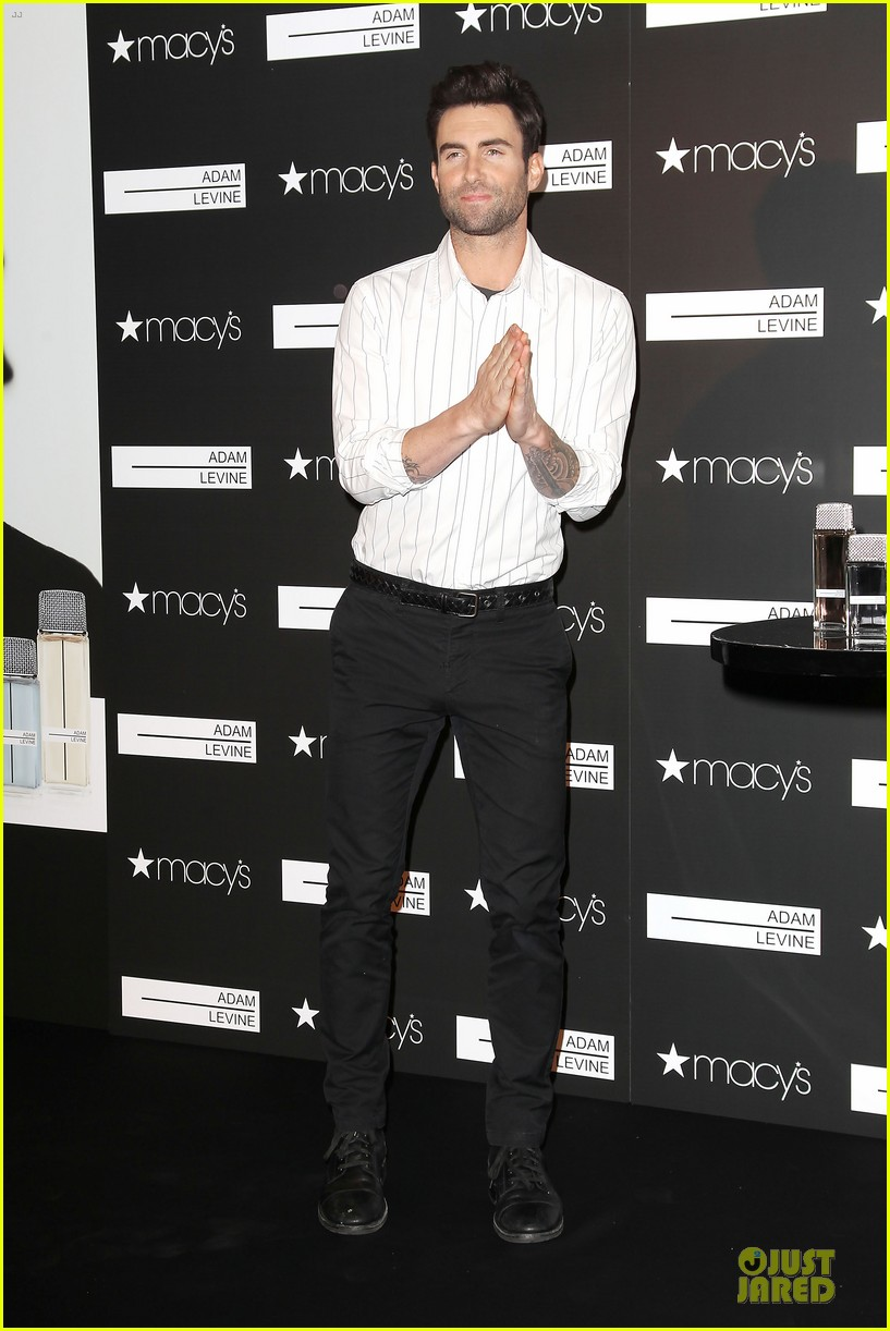 adam levine fragrance launch in new york city 23