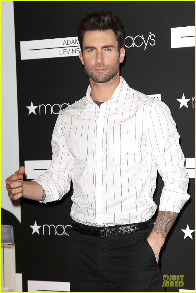 adam levine fragrance launch in new york city 392813237