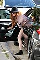 lindsay lohan shoeless after court appearance 12