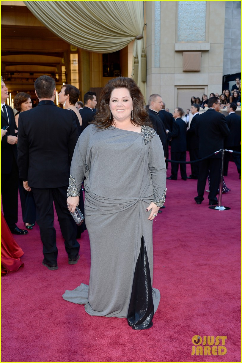 melissa mccarthy oscars 2013 red carpet 07