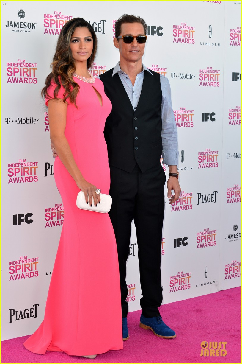 matthew mcconaughey camila alves independent spirit awards 2013 06