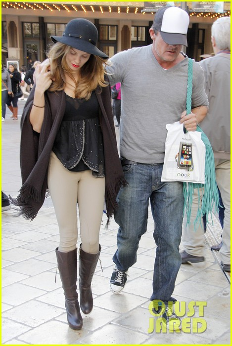 annalynne mccord dominic purcell the grove couple 09