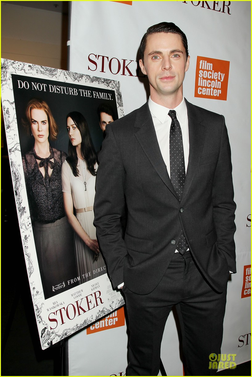 mia wasikowska matthew goode stoker new york screening 062822117
