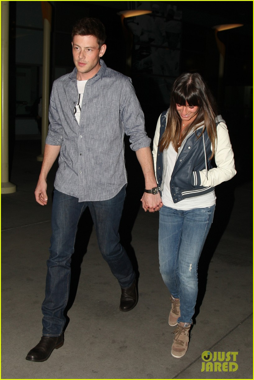 lea michele cory monteith arclight hollywood lovers 032804481
