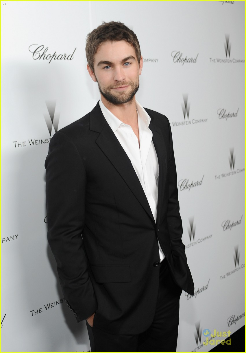 matthew morrison chace crawford weinstein pre oscars party 2013 01