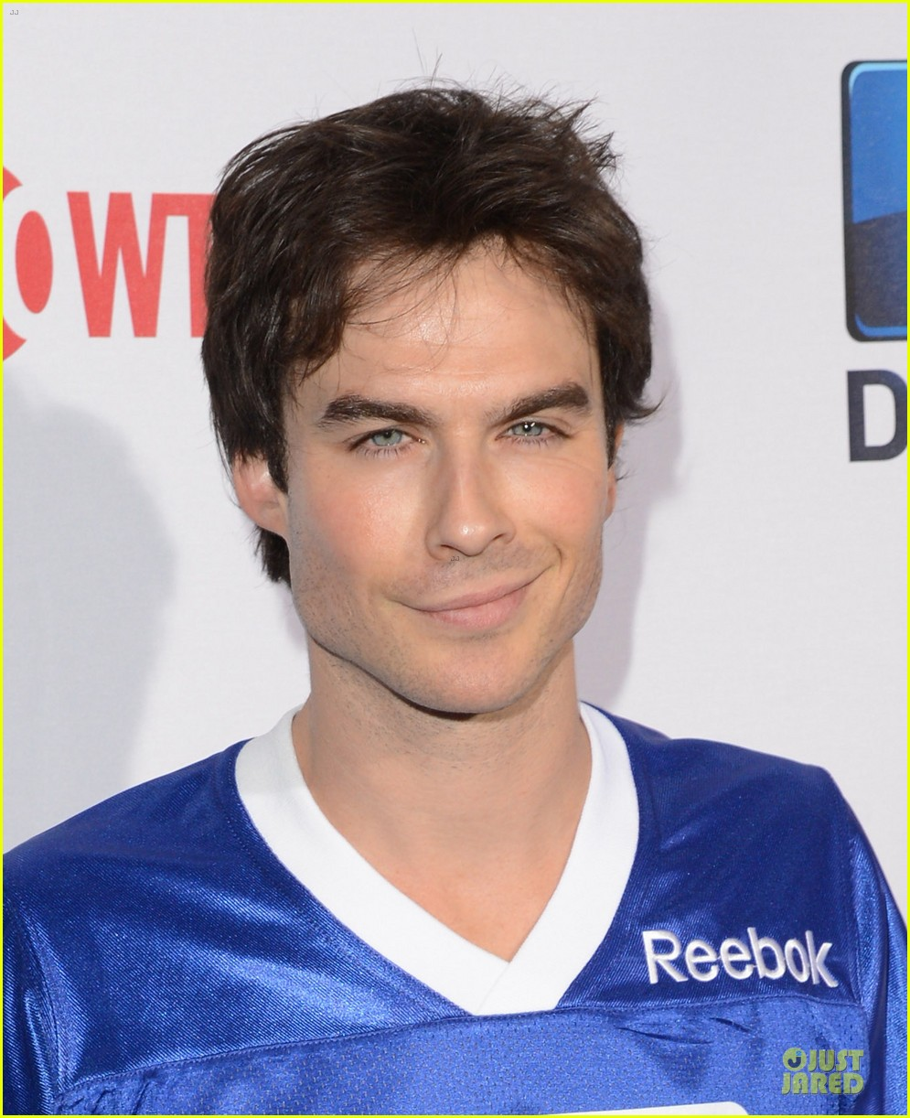 ian somerhalder nina dobrev celebrity beach bowl party couple 04